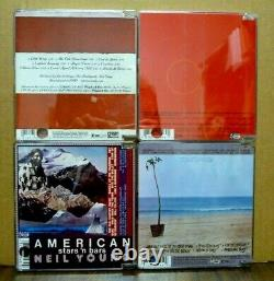 NEIL YOUNG DVD Audio 4-disc American Stars, Hawks & Doves, On The Beach, Reactor
