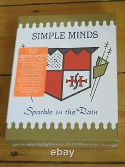 NEWithSEALED 4 CD/ DVD SIMPLE MINDS Sparkle in the Rain Super Deluxe Edition 5.1