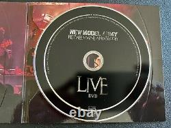 New Model Army Between Wine And Blood LIVE Import 3 CDs + DVD Limited