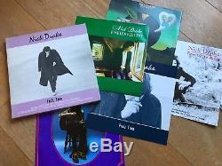 Nick drake fruit tree Hannibal records 1986 4 lp booklet NM boxset box