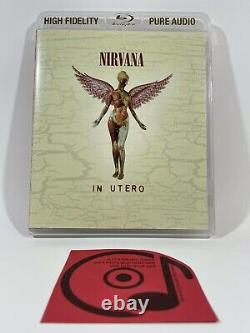 Nirvana In Utero High Fidelity Blu-ray Pure Audio Disc