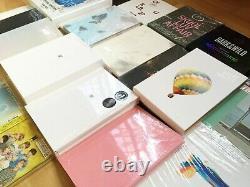 OFFICIAL 100% BTS Album CD Photobook Set with Photocard of Choice (20132021)