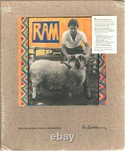 PAUL & LINDA McCARTNEY Ram 2012 Ltd. Ed. Archive Deluxe #'d 4xCD/DVD SEALED
