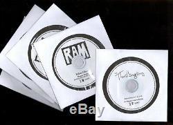PAUL McCARTNEY PROMO ACETATE USA 5-CD/DVD SET RAM THRILLINGTON TEST DEMO BEATLES