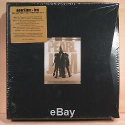 PEARL JAM Ten Collector's Ed. Box Set 2009 (2CD, DVD, 4LP, Tape) SEALED