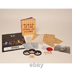 Paul McCartney & Wings Speed of Sound Super Deluxe Edition 2SHM-CDDVD NEW
