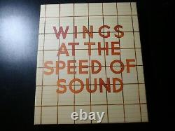 Paul Mccartney Wings At The Speed Of Sound Deluxe Edition 2 CD DVD Set Numbered
