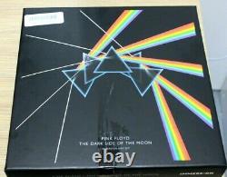 Pink Floyd Dark Side Of The Moon Immersion Box Set. DVD is REGION B/2
