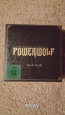 Powerwolf Box Set 2 CDs + DVD The History Of Heresy 1 2004 2008