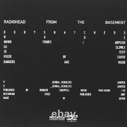 RADIOHEAD In Rainbows / From The Basement CD withDVD JAPAN