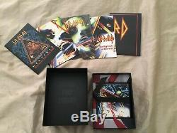 RARE Hysteria By Def Leppard 30th Anniversary Super Deluxe Version CD/DVD Metal