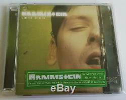 Rammstein Links 2-3-4 / 8. Track Audio DVD + Portuguese Hype Sticker