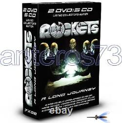 Rockets A Long Journey Box 2 DVD + 5 CD Limited New