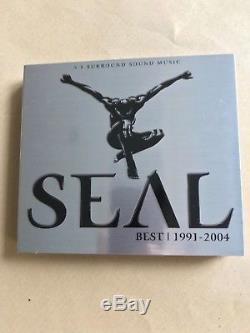 SEAL Best 1991 2004 (DVD-AUDIO Hi-Res 3 Disc OOP Rare)