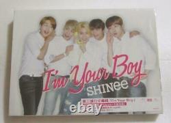 SHINee I'm Your Boy Taiwan Ltd CD + DVD + 48P booklet (Version B)