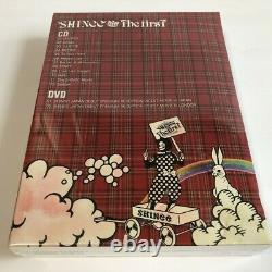 SHINee THE FIRST CD+DVD+PHOTOBOOK+Calendar Limited Edition Japan SEALED
