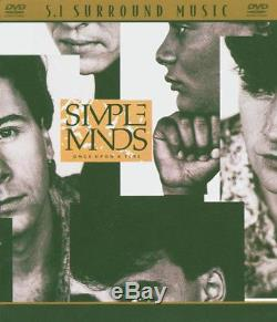 SIMPLE MINDS Once Upon A Time RARE OUT OF PRINT DVD-AUDIO 5.1 SURROUND SOUND