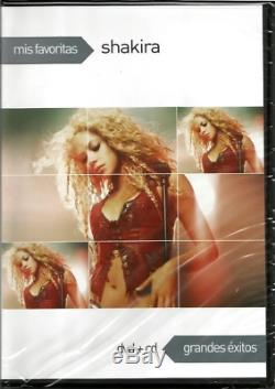 Shakira Mis Favoritas Sony Music DV9300131 DVD + CD COLOMBIA 2010 BRAND NEW