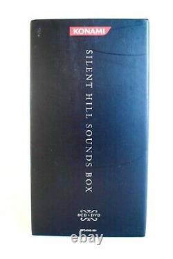 Silent Hill Soundbox Sound Box Sountrack 8 CD 1 DVD Artbook Music Akira Yamaoka