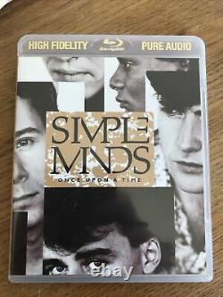Simple Minds Once Upon A Time Bluray Pure Audio CD DVD 5.1 Dts Surround