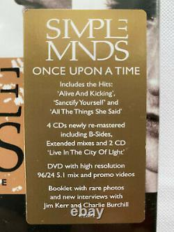 Simple Minds Once Upon A Time. Super Deluxe Edition Box Set (NEW & SEALED)
