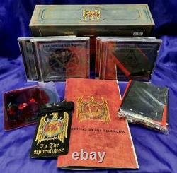 Slayer Soundtrack To The Apocalypse Ltd. Box-set Inc. 4 Cds + DVD + More