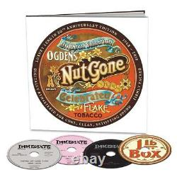 Small Faces Ogdens' Nut Gone Flake 50th Ann. (NEW 3CD, DVD BOXSET)