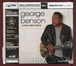 Songs and Stories Dig George Benson (Guitar) (Audio DVD + CD, 2 Discs) NEW