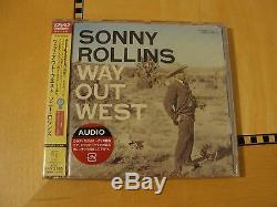 Sonny Rollins Way Out West DVD Audio Japan Rare SEALED
