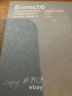 Steven Wilson 5.1 Bass Communion Pacific Codex CD + DVD A surround #707 Ltd Ed