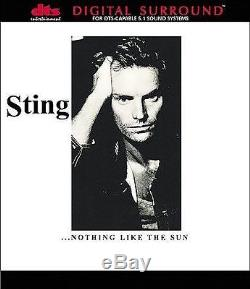 Sting NOTHING LIKE THE SUN cd DTS 5.1 NEW (The Police) dvd-audio style