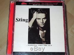 Sting Nothing like the Sun DVD-Audio, DTS-CD DVD-A, k. Video/SACD rare Police