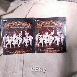 Super Junior First Asia Tour LIVE Super Show Korean Pop Kpop Music CD DVD Set