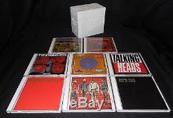 TALKING HEADS'BRICK' BOX SET 8 DUAL DISC CD DVD AUDIO 5.1 RHINO MINT FREE SHIP