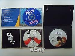 TATU TATY Russian CD + Audio CD with 2 videos + DVD video collection