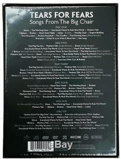 TEARS FOR FEARS CD x 4 + DVD x 2 Songs From The Big Chair Anniversary BOX IN STO