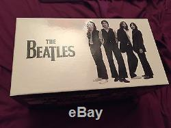 THE BEATLES COMPLETE ALBUMS RARE FRENCH ONLY BOX SET INCLUDING 20CD + 5DVD