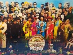 THE BEATLESHOLOGRAM SEALEDDELUXE BOX SET 4CD/Blu-Ray DVD/Book/Posters