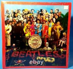 THE BEATLESSgt PeppersSEALEDDELUXE BOX SET 4CD/Blu-Ray DVD/Book/Posters