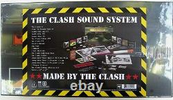 THE CLASH CD x 11 + DVD Sound System Deluxe BOOMBOX Box Set Remastered Outakes