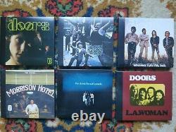 THE DOORS Perception Box 6 DVD Audio + 6 CD