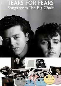 Tears for Fears Songs From the Big Chair Box Set Sealed