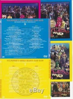 The Beatles Sgt Pepper's Lonely Hearts Club Band 7cd DVD Audio Red Blue Yellow
