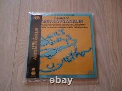 The Best of Aretha Franklin DTS DVD-AUDIO 5.1 Quadradisc Rhino (no SACD)