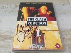 The Clash Rude Boy DVD signed by Mick Jones Big Audio Dynamite Joe Strummer