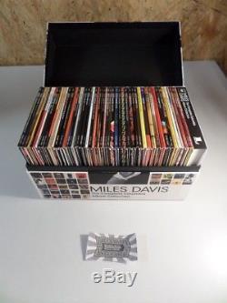 The Complete Columbia Album Collection Box-Set mit 70 Audio-CDs und 1 DVD, 8869