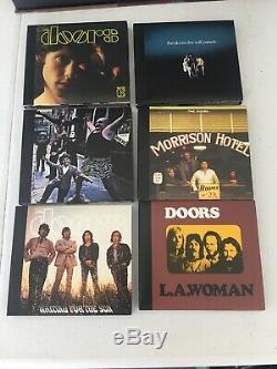 The Doors, Perception 6x cd 6x DVD Audio, 5.1 Stereo Box Set. Bonus Tracks