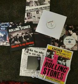 The Rolling Stones CHARLIE IS MY DARLING Super Deluxe Box Set Cd DVD Blu-ray LP