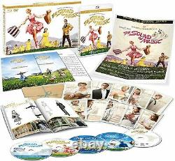 The Sound Of Music Production 50Th Anniversary Edition Blu-Ray BOX New A