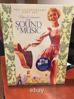 The Sound of Music 40th Anniversary Special Ed Gift Set DVD, CD, Book(1965)MfgSeal